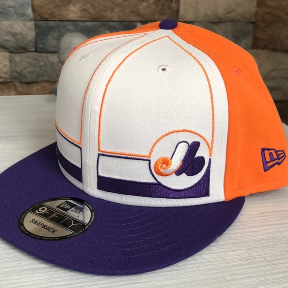 cb4c3a5d9f8 Montreal Expos New Era Topps 1983 9FIFTY Snapback